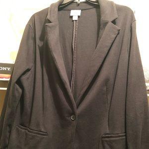 Black Blazer 1X
